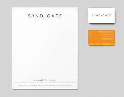 Branding: Syndicate Sound