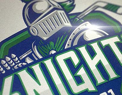 Knights Hockey logo
