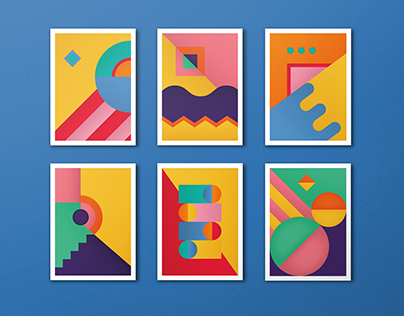 Geometric Compositions vol.1 | Personal project