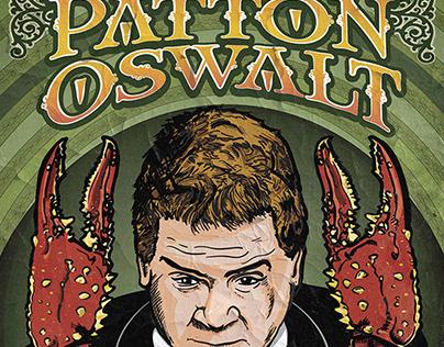 Poster Illustration for Patton Oswalt