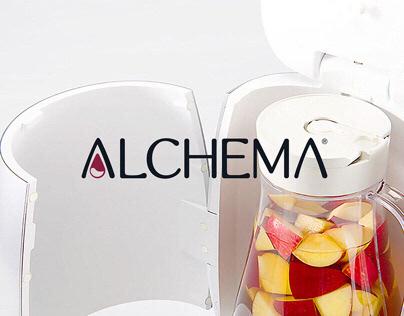 Alchema® Branding, concept design & UI/UX