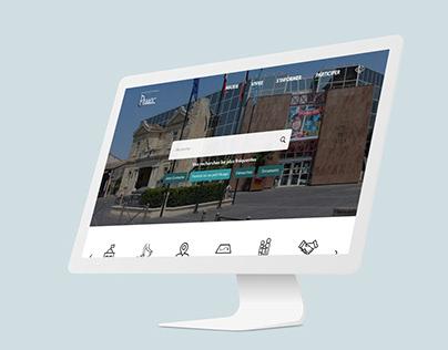 Web Design - Ville de Pessac