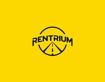 Rentrium | Logo Tasarımı