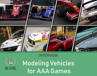 80.lv Interview - Modeling Vehicles for AAA Games
