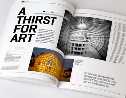 Artworks Journal #01 - Editorial Design & Art Direction