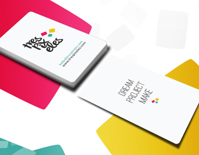 Tres Pixeles Business Cards