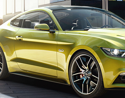 Mustang GT2016 - CGI