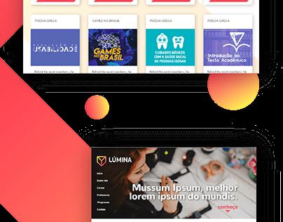 E-learning platform (Website)