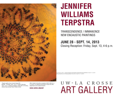 Transcendence/Immanence: new encaustic paintings