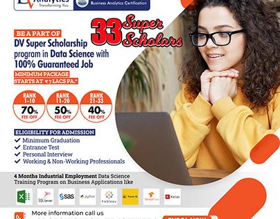 DV Analytics 33 Super Scholars
