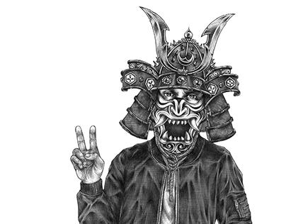 Samurai Dude