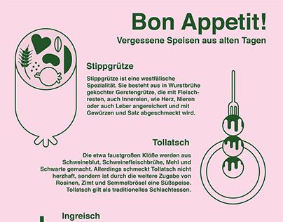 Forgotten German dishes