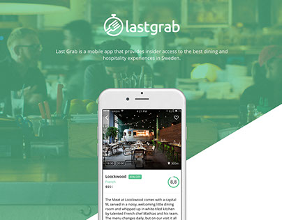 Lastgrab mobile application