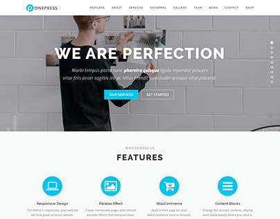 Bussiness|Agency -(Landing page | wordpress Eelemento )