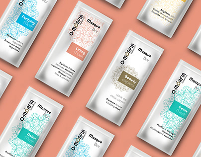 O-morfia Cosmetics Masque Bar - Packaging