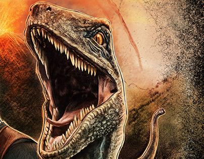 Jurassic World Alternate Movie Poster