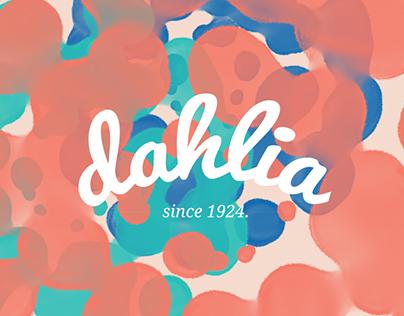 DAHLIA/shampoo line redesign