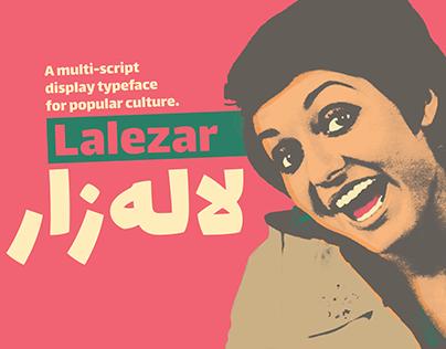 Lalezar, a display typeface for popular culture