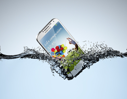 Samsung Galaxy 3D product visualisation