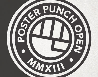 Poster Punch Open MMXIII