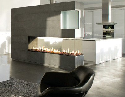 Space Creator Fireplace By Ortal USA
