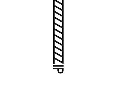Typography Interpretation - Z is for Zip