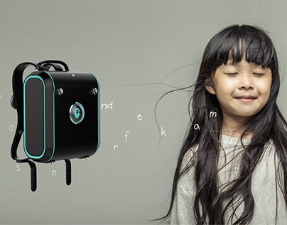 SMART CHIID BAG . DESIGN