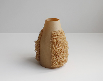 BLOND Vase - 3d printed POILU Collection