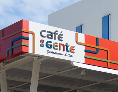Fachada – Deck do Café da Gente