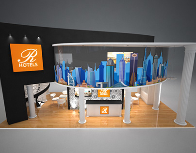 R Hotels Exhibition Stall
