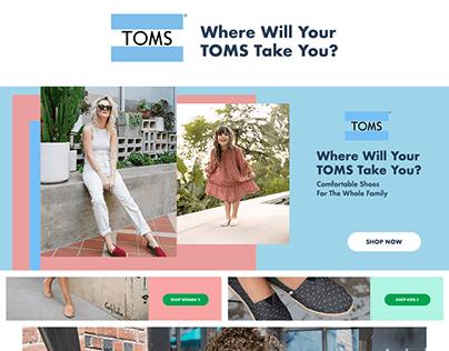 TOMS Shop-in-Shop - Sprii.ae