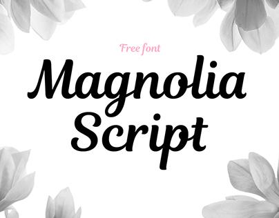 Magnolia Script | FREE FONT