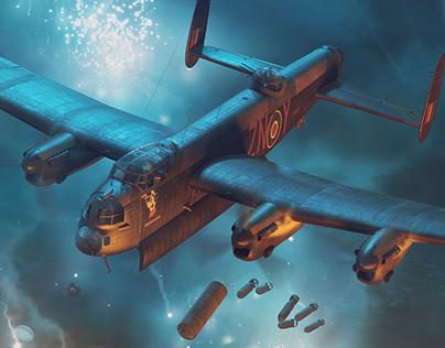 Admiral Prune - Lancaster (1:48) - HK MODELS boxart