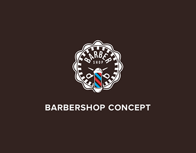 Design of a site of barbershop