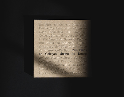 """Catalogue """"Rui Pires na Coleção Museu do Douro"""""""
