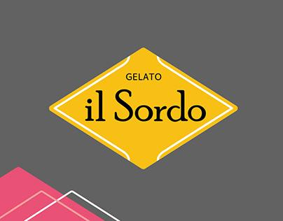 Rebranding gelateria il Sordo