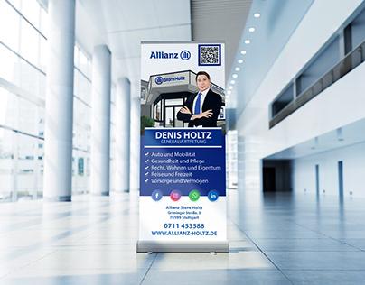 Allianz Versicherung - RollUp Design