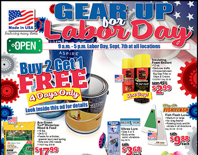 Gear Up for Labor Day 2015