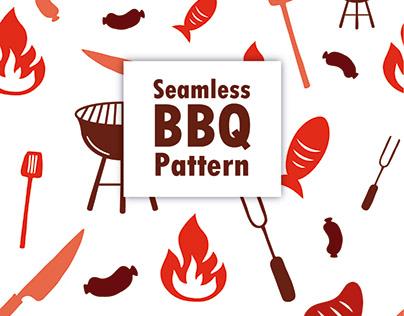 Seamless BBQ Pattern