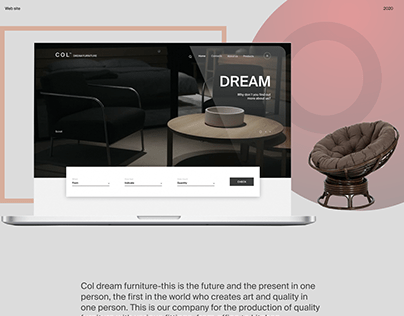 Web site Col dream furniture