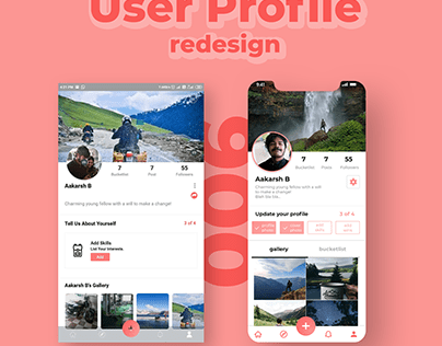 User Profile Redesign