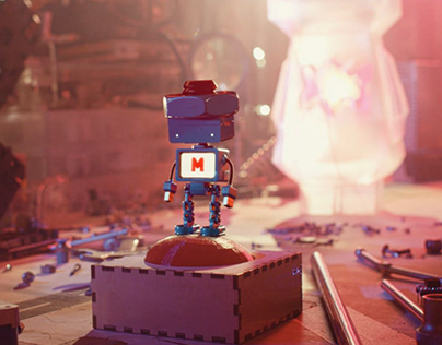 Robot Animation in Cinema 4d
