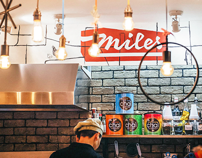 """Miles""—Burger Restaurant on Volkhonka"