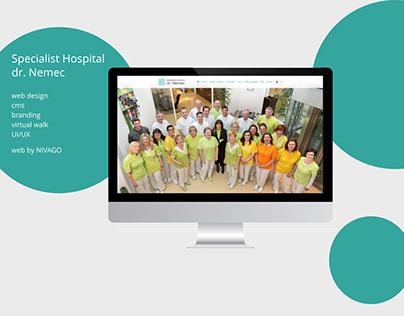 Hospital Dr.Nemec -web design