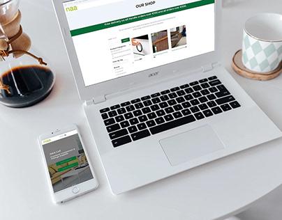 NAA Ltd - Ecommerce Website (redesign 2020)