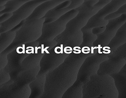 Dark Desserts | Artistic Photography