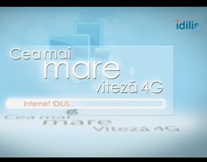 IDILIS 4G Internet