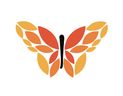 Drunk Butterfly Graphics Logo Series
