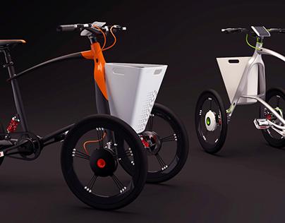 Keto : Urban e-trike for Today