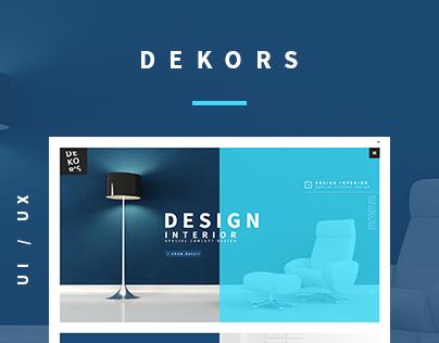 Dekor's New Web Site Design